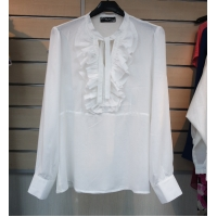 LADIES' RAYON KNITTED BLOUSE